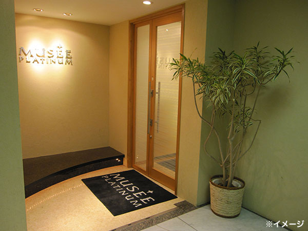 ミュゼ恵比寿店の入口